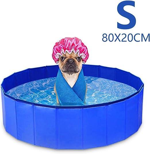 GoPetee Piscina para Perros Mascotas Plegable Bañera para Mascotas ...