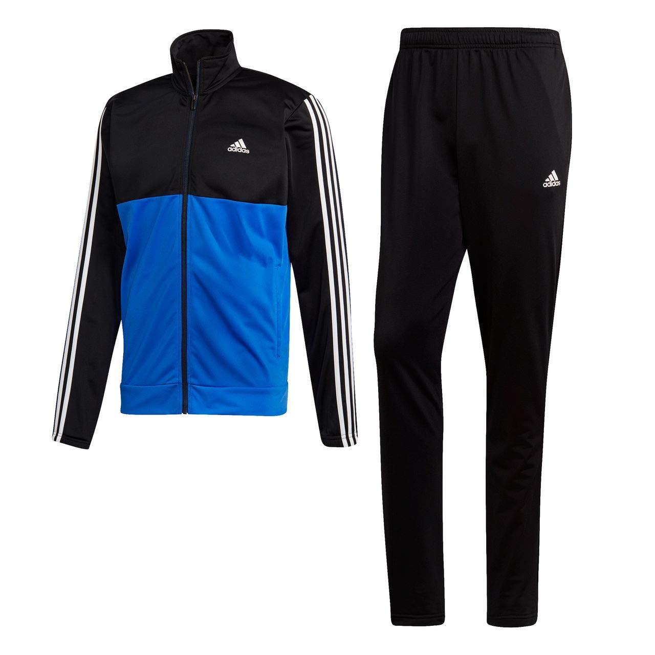adidas Back2bas 3s TS-Black/Hirblu - Chándal para Hombre: Amazon ...