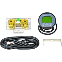 Hardkorr Remote Battery Monitor with High-Precision 100V/500A Shunt, Black (HKPBATTMON)