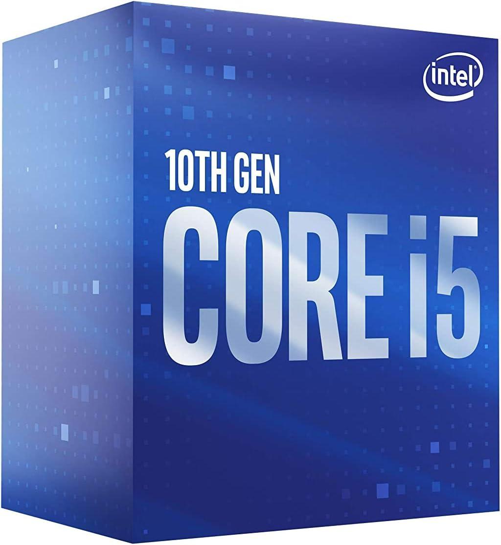 Intel Core i5-10400 Desktop Processor 6 Cores up to 4.3 GHz LGA1200 Intel 400 Series Chipset 65W, BX8070110400