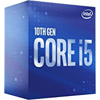 Intel Core i5-10400 Desktop Processor 6 Cores up to 4.3 GHz LGA1200 (Intel 400 Series Chipset) 65W, Model Number…