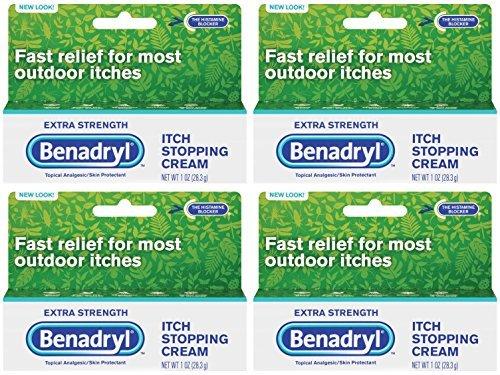 Benadryl Itch Stopping Cream (Benadryl Max Cream Size 1z Benadryl Extra Strength Itch Stopping Cream)