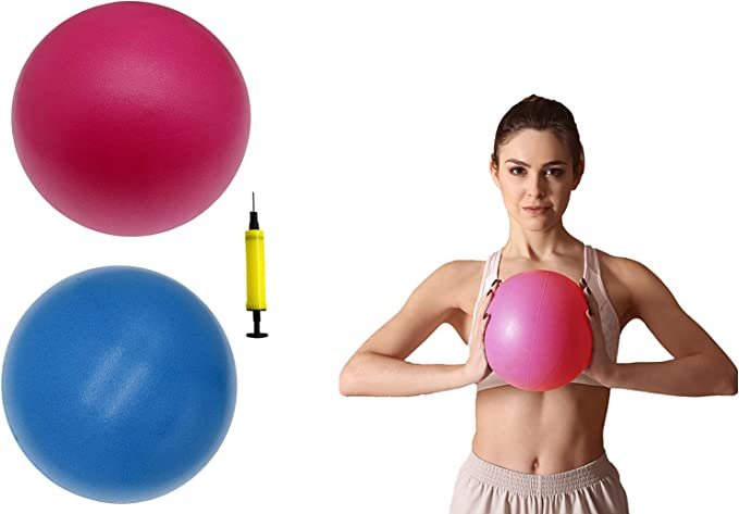 Details about  /Exercise Workout Yoga Ball Yoga Fitness Pilates Sculpting Balance Include Pump