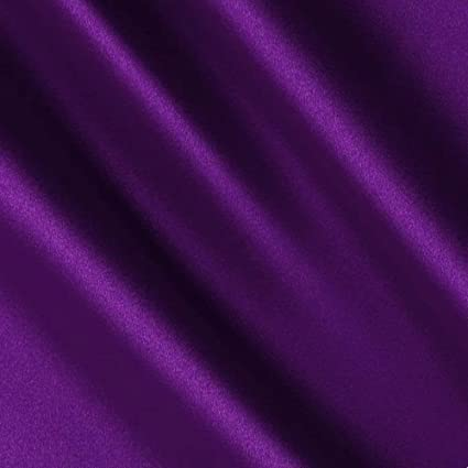 """For Weddings Decor, 20 Yards By Roll Royal Blue Satin Fabric 60/"""" Inch Wide"""
