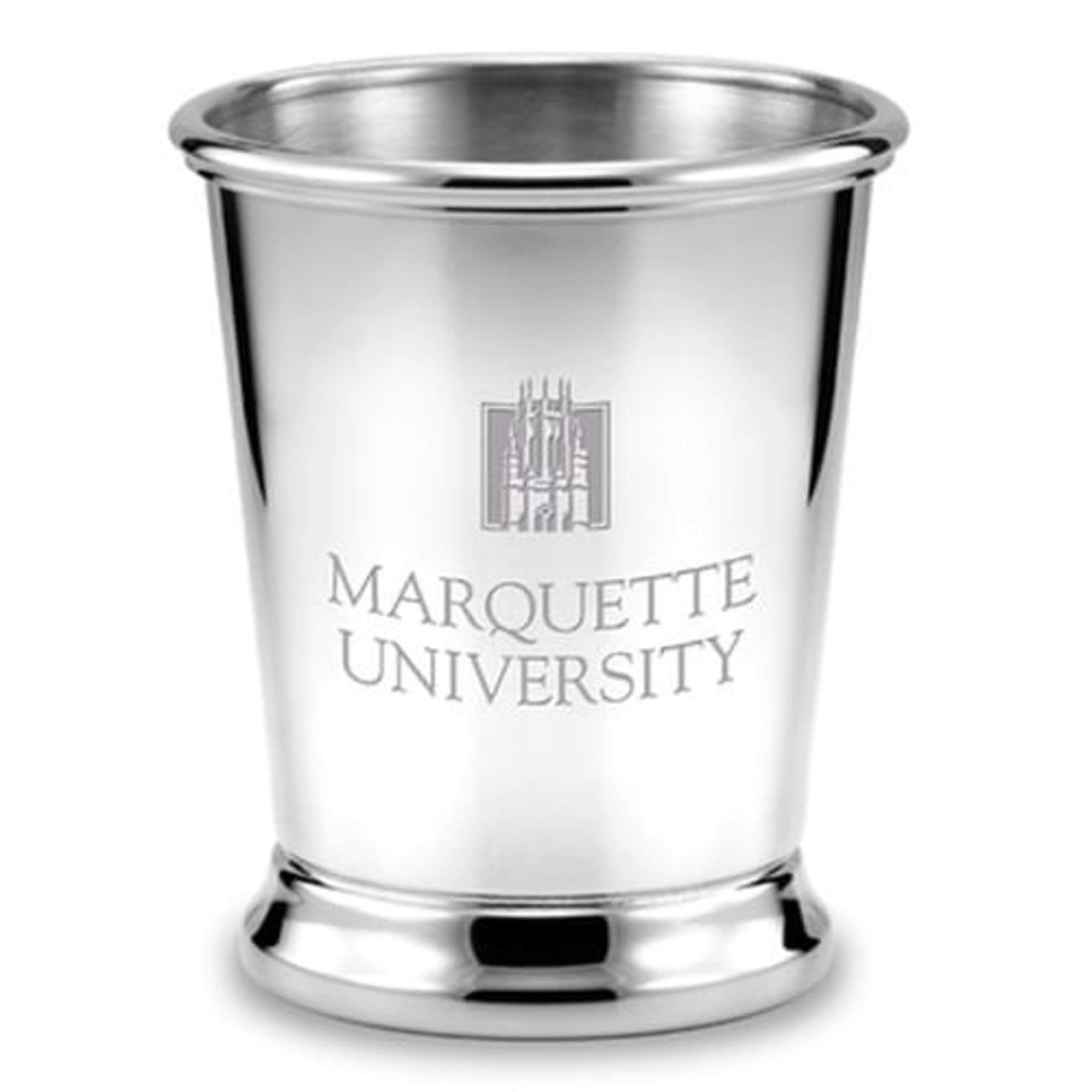 M. LA HART Marquette Pewter Julep Cup