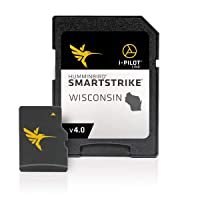 Humminbird 600041-4 SmartStrike Wisconsin V4 Digital GPS Maps Micro Card