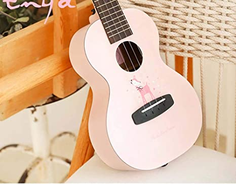Gasgff Ukulele Guitarra Pequeño 23 Pulgadas pequeña Guitarra ...