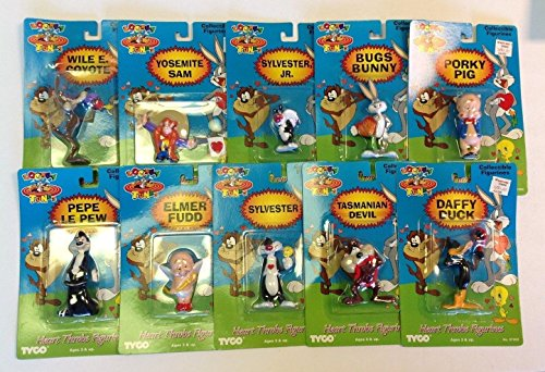 looney-tunes-heart-throb-figures-tyco-set-of-10-new-in-box