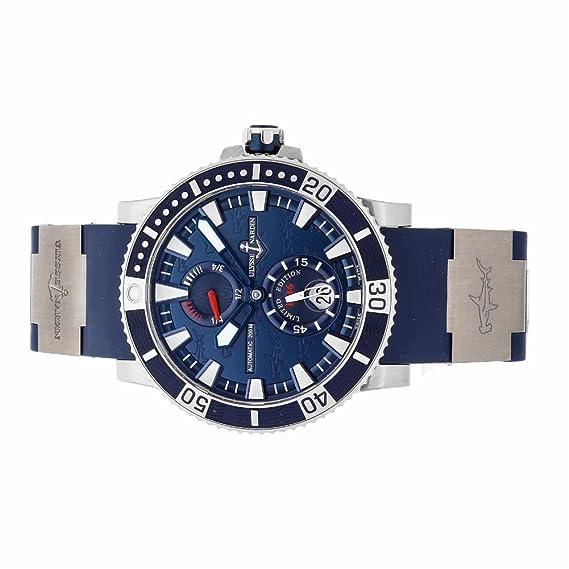 Ulysse Nardin Maxi automatic-self-wind Marino reloj para hombre 263 – 91le-