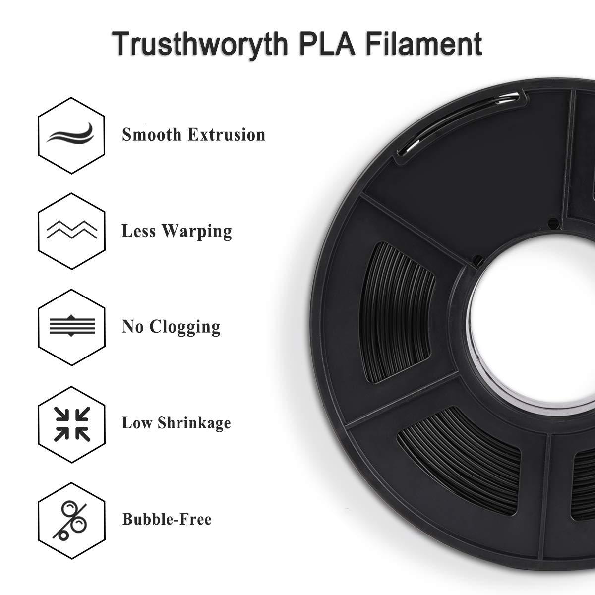Filamento de impresión 3D PLA Enotepad precisión dimensional +/- 0 ...