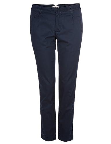 Brigitte von Boch - Mujer - Vadue Pantalones 7/8 azul marino