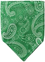 Chaos Paisley Bandana, Green, One Size