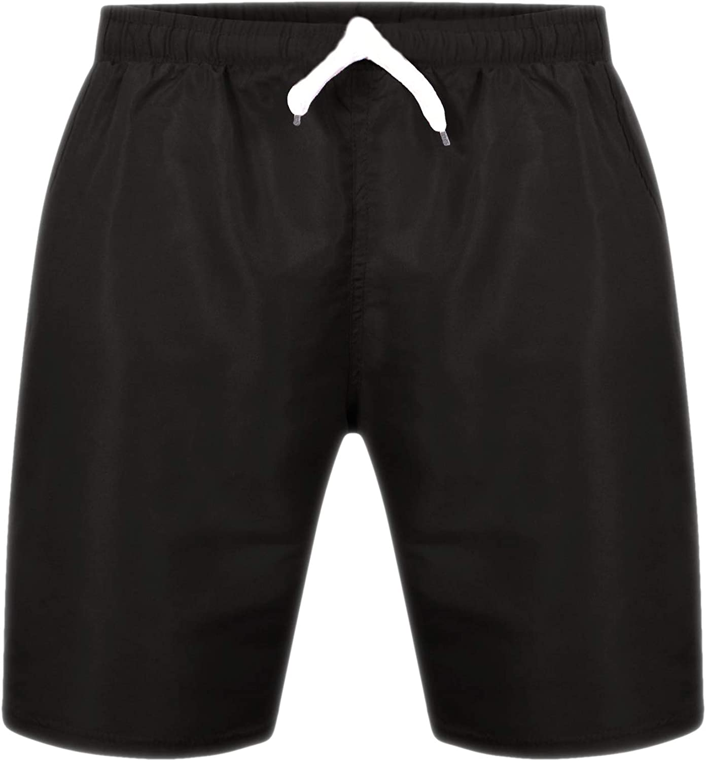 Aelstores Boys Swimming Shorts Plain Surf Trunks Holiday Summer Mesh Lining Age 3-16 Years