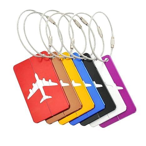 Oyfel Etiquetas de Equipaje Maletas, Etiquetas de Equipaje de Viaje, Etiquetas de Identificación de