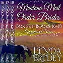 Montana Mail Order Bride Box Set Books 16-18: Westward Box Sets Audiobook by Linda Bridey Narrated by Jim Ellis, Alan Taylor