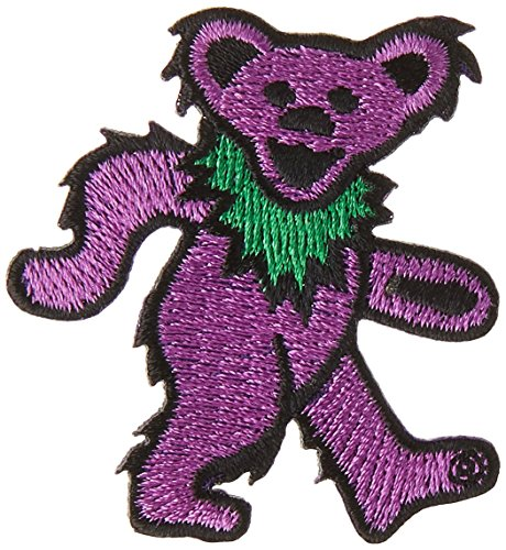 Application Grateful Dead Purple Bear, 1 Patch