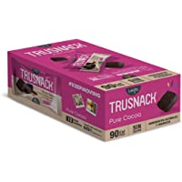 Trusnack Pure Cocoa - 90 Cal Pack - Gluten Free - Vegano ( Paquete 30g - 12 Pack Box)