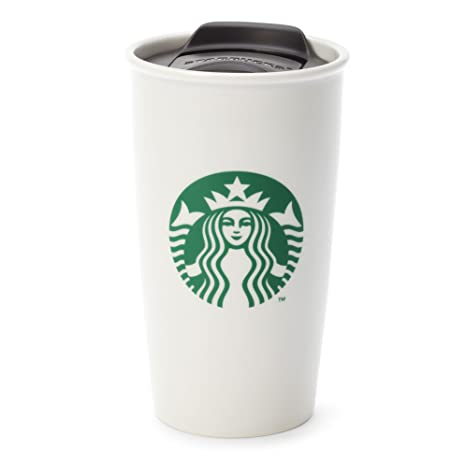 17ca7f6fb41 Starbucks Double Wall Ceramic Traveler, 12 fl oz