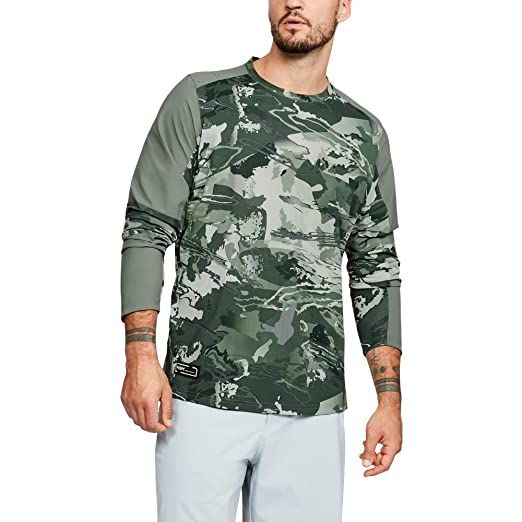 f645218f1da97 Amazon.com: Under Armour Outerwear Men's Thermocline Hybrid Crew Top:  Clothing