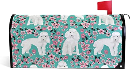 Bichon Frise Decorative Mail Box Cover