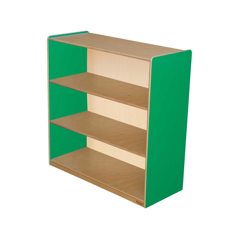 Healthy Kids Colors WD12936G Green Apple Bookshelf, 36''H