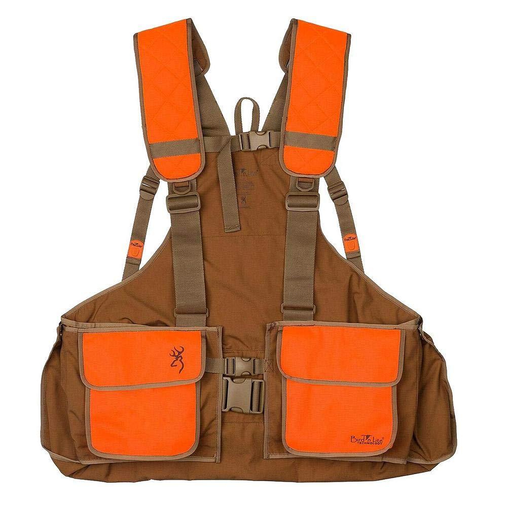 Browning Vest, Strap Bird N' Lite, 2.0 W/O Emb, Ch/Bz, Xl/2Xl by Browning