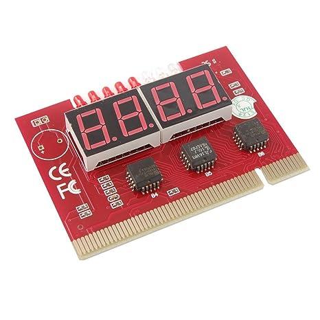 PC tarjeta PCI de 4 dígitos placa madre de diagnóstico del ...