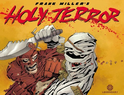 Holy Terror by Frank Miller (2011-10-11)