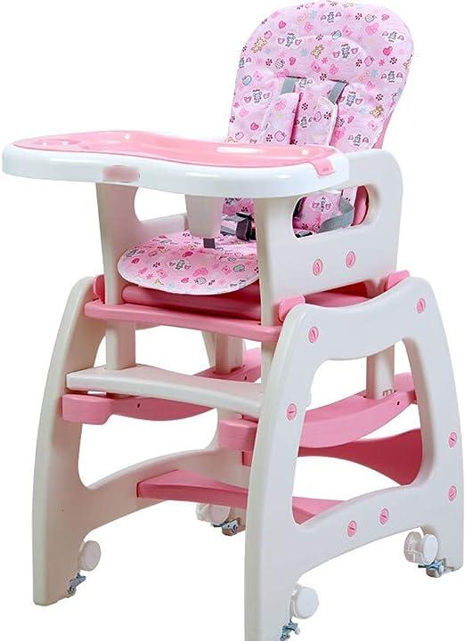 Trona para bebé, silla de comedor para niños Mesa para comer Silla ...