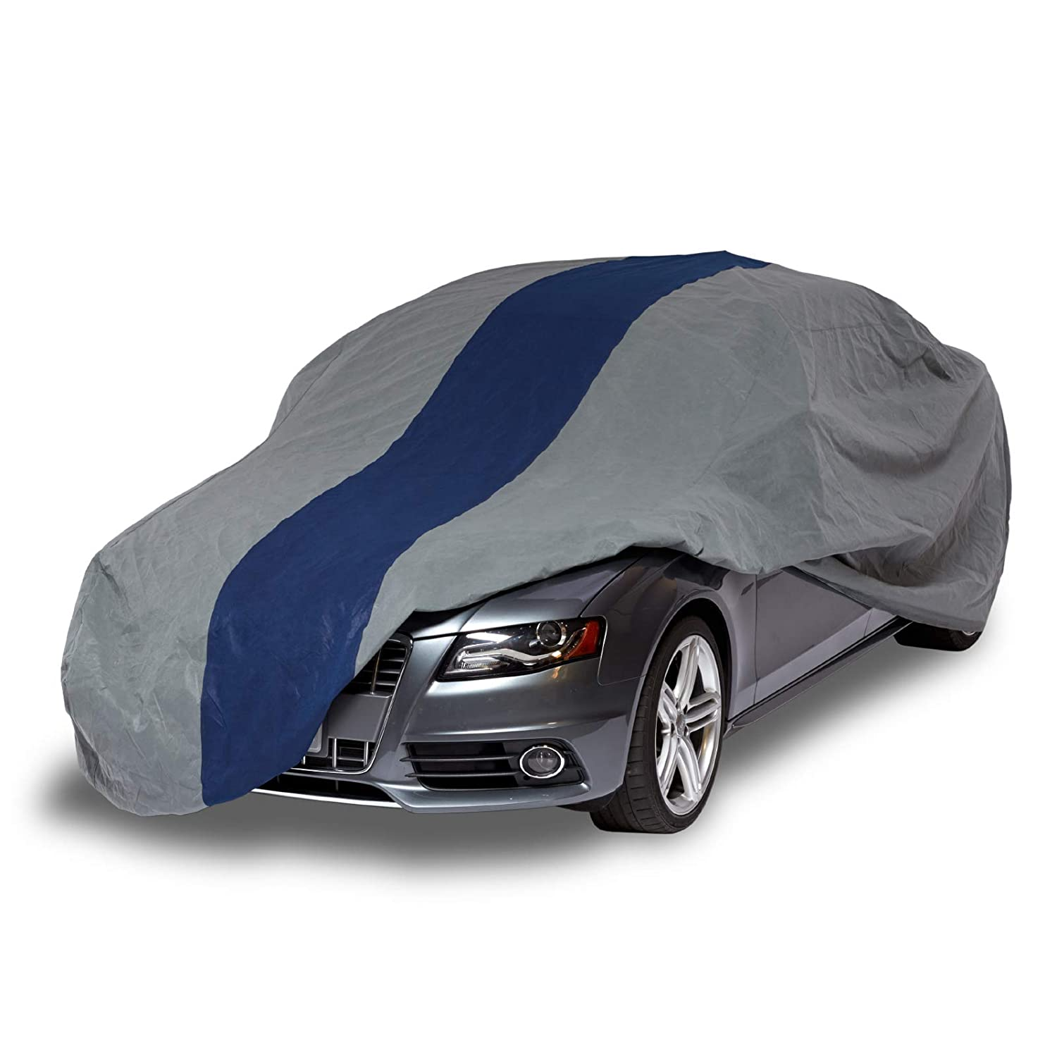 Duck Covers Double Defender Indoor/Outdoor Car Cover, 3 Layers, All Weather Protection, Limited 3 Year Warranty,  Fits Sedans up to 22 ft. A2C264
