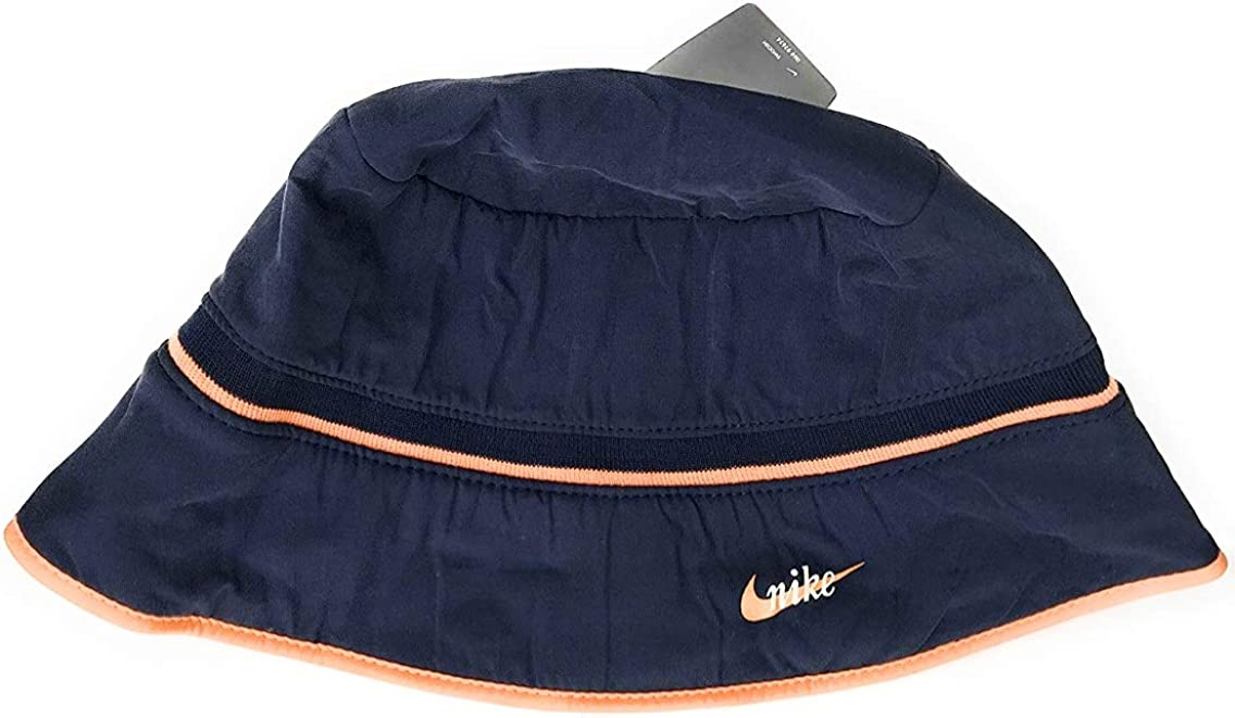 Nike - Gorro de Pescador - para Mujer Navy/Orange S/M: Amazon.es ...