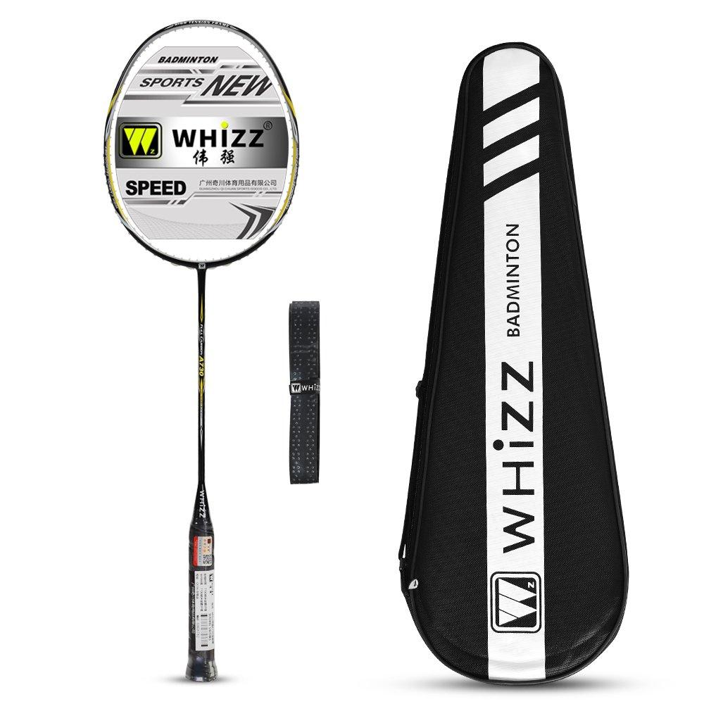 3471a197b96 WHIZZ A730 Graphite Badminton Racket 80g (Black)  Amazon.co.uk  Sports    Outdoors