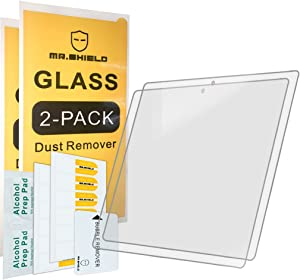 [2-PACK]-Mr.Shield For Google Pixel C Tablet [Tempered Glass] Screen Protector [0.3mm Ultra Thin 9H Hardness 2.5D Round Edge] with Lifetime Replacement