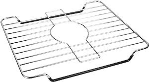 Home Basics SP41216 Sink Protector, Silver Chrome