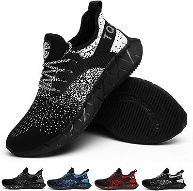 TQGOLD Zapatillas de Deportes Hombre Mujer Running Zapatillas para Correr Zapatillas de Deporte Ligeras: Amazon.es: Zapatos y complementos