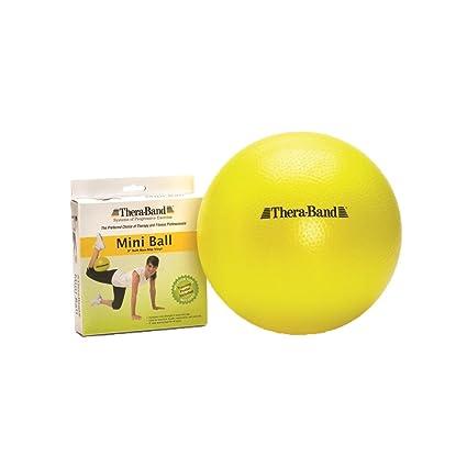 Theraband Mini bola pequeña pelota de ejercicio para entrenamiento  abdominal y ejercicios de rehabilitación de hombro fbc32fdea81e