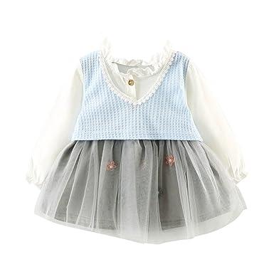 0-3 Jahr Kleinkind Kinder Bubble Kleid, DoraMe Baby Mädchen Party ...