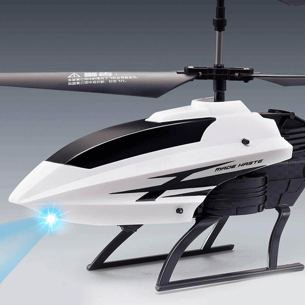 White Rc Helicopter 2 Channels Altitude Hold Helicopter with Gyro and LED Light for Indoor RTF Crash Resistance Mini Helicopter RC Toy Gift for Kids and Adults