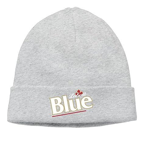 Canada Labatt Blue Beer Adjustable Beanie Skull Cap Hat One Size Ash   Amazon.ca  Clothing   Accessories 644fe9cfcb4d