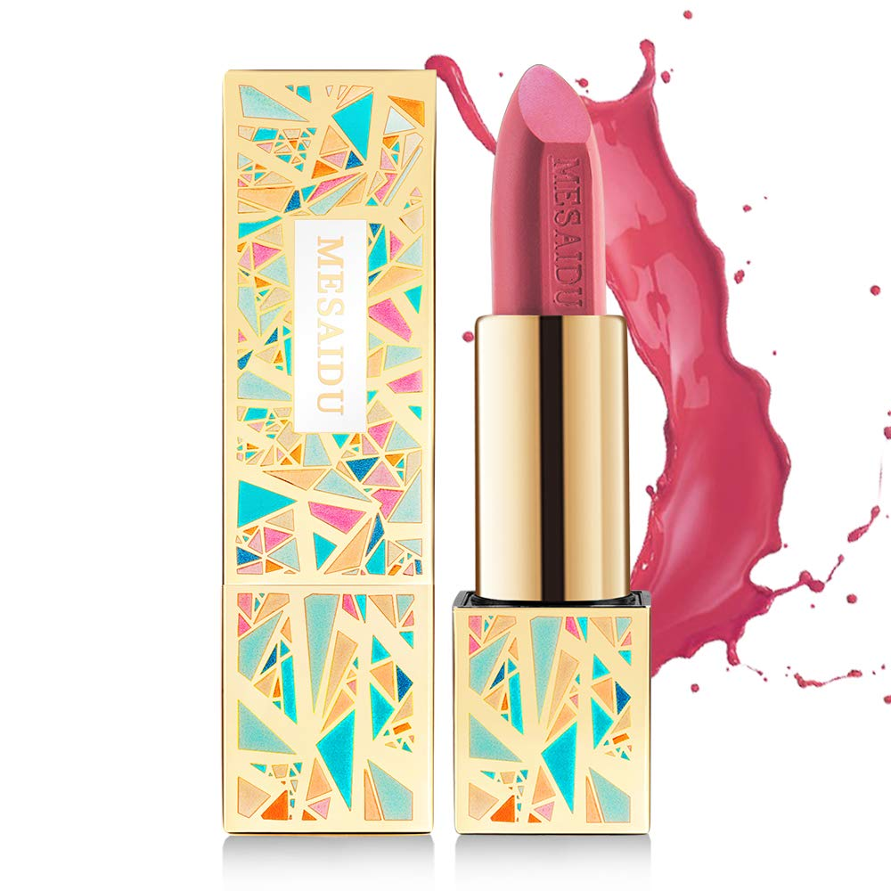 Mesaidu Premium Beauty Lipstick and Moisturizer, Long Lasting and Waterproof, A4 ROUGE