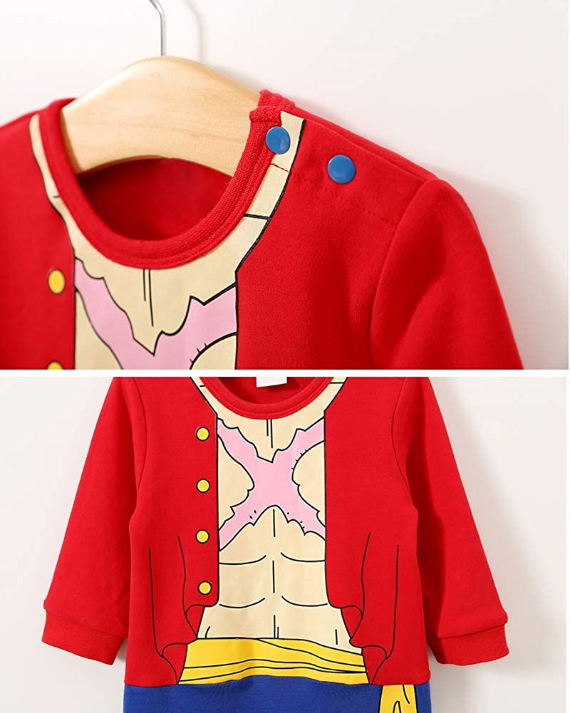 JooNeng Baby Infant Boys Cute Cartoon Romper One Piece Cosplay Costume Outfit