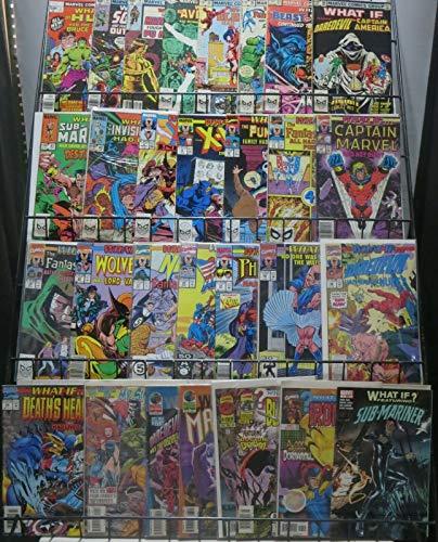 WHAT IF.? MEGA-SAMPLER! 30 issues from Volume1,2&3! Ponder Marvel's Never-was!