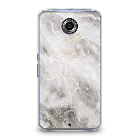 huge discount 47a8b 1e711 CasesByLorraine Case for Nexus 6, Marble Print Pattern Plastic Hard Cover  for Motorola Google Nexus 6 (X01)