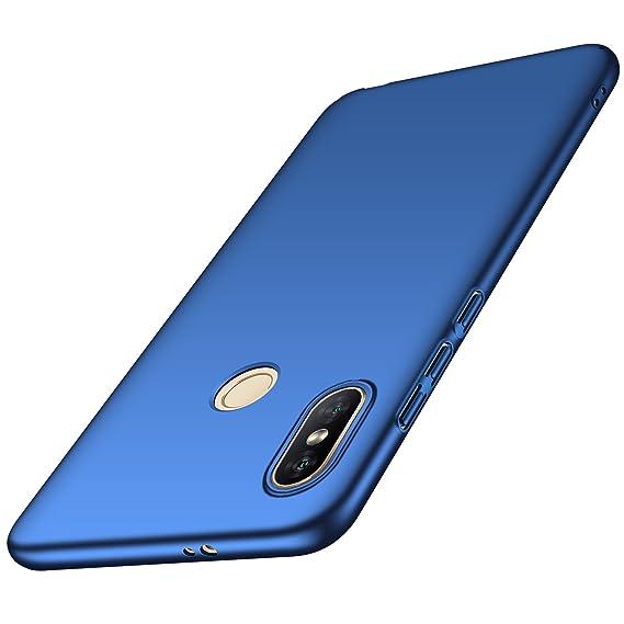 sale retailer 84acd 72855 Anccer Xiaomi Redmi Note 5 Pro Case, Redmi Note 5 Case [Colorful Series]  [Ultra-Thin] [Anti-Drop] Premium Material Slim Fit Cover (Blue)