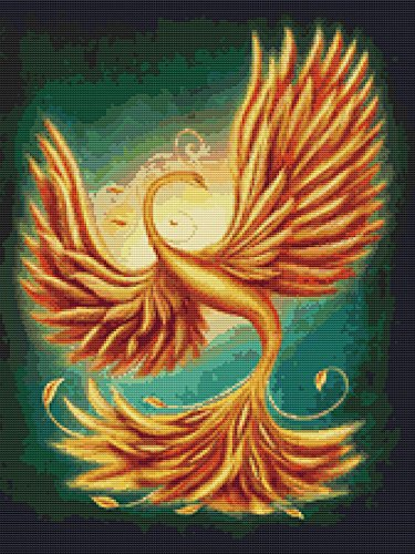 golden phoenix pattern
