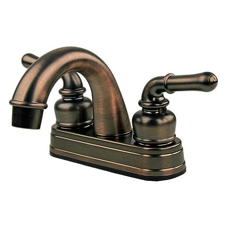 Amazoncom RV Mobile Home Bathroom Sink Faucet Oil Rubbed Bronze - Mobile home bathroom sinks