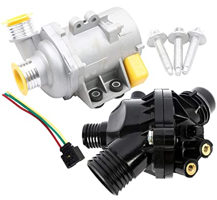 Amazon com: KARPAL Engine Water Pump + Thermostat +Wire Harness +