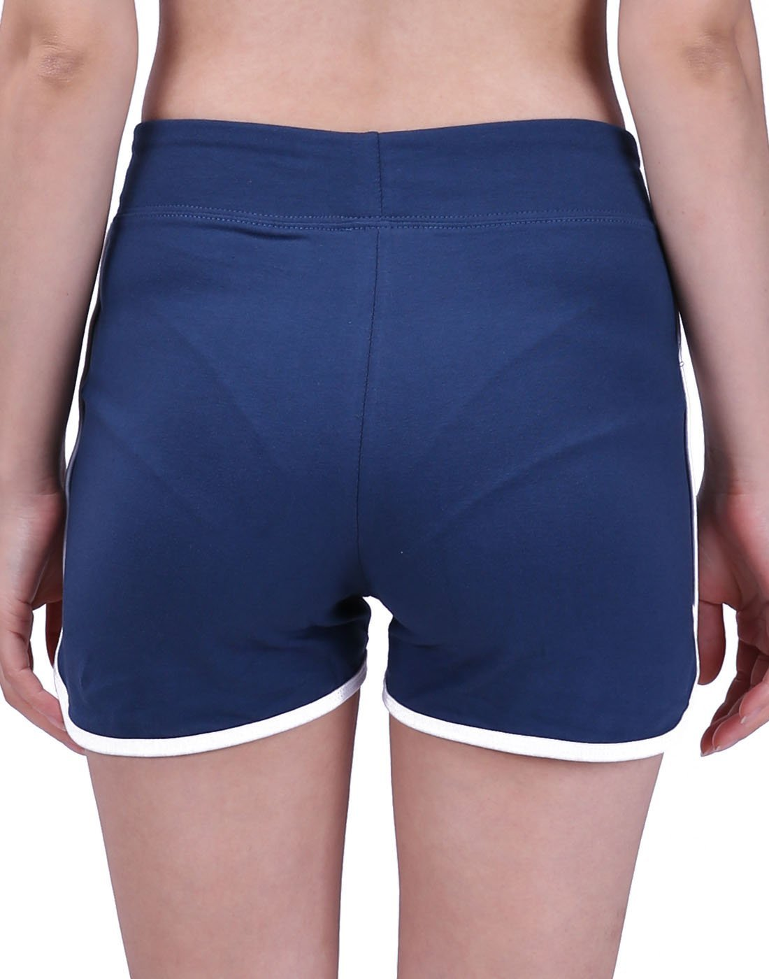 HDE Women's Retro Fashion Dolphin Running Workout Shorts (Midnight Blue, Medium) by HDE (Image #4)