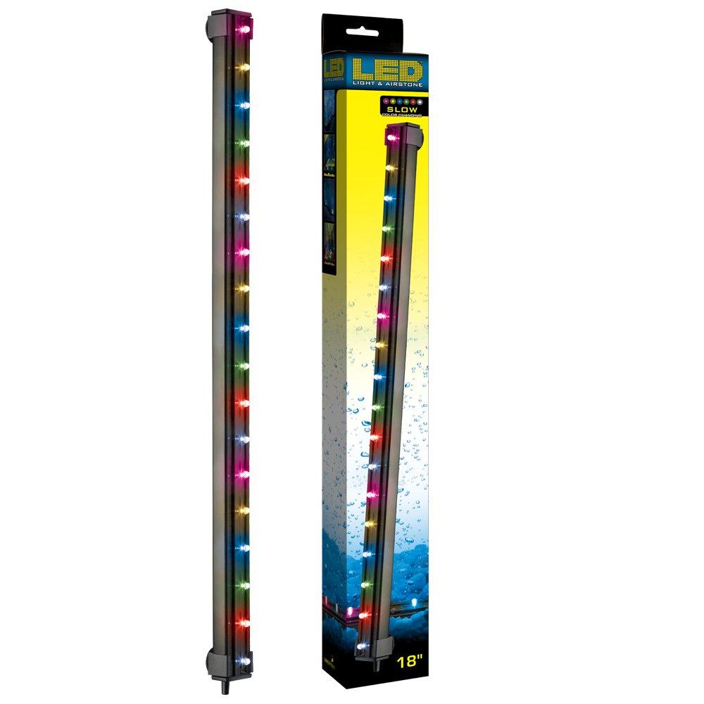 ViaAqua18in 3.3 watt Slow Color Changing LED Light & Airstone by ViaAqua B004HSSUT4