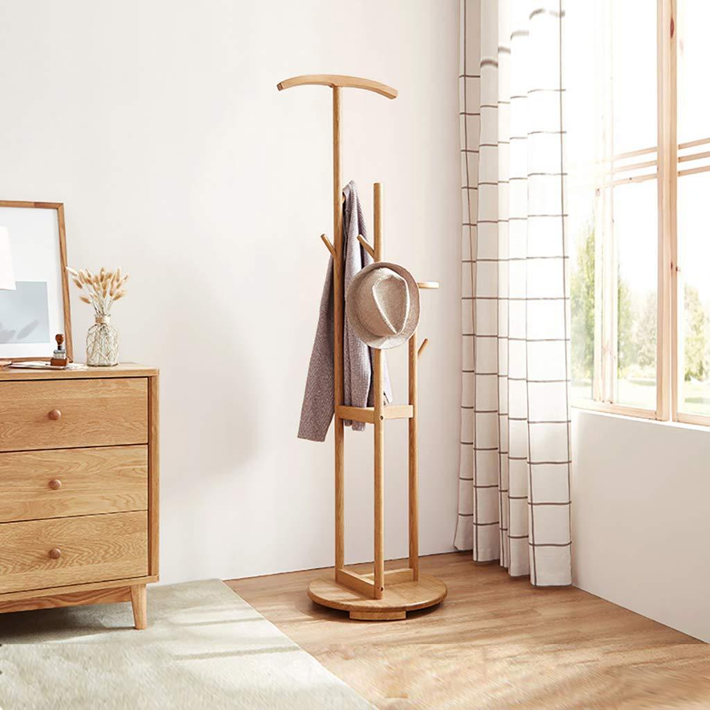 Amazon.com: wenlongshop Floor Coat Rack - All Solid Wood ...